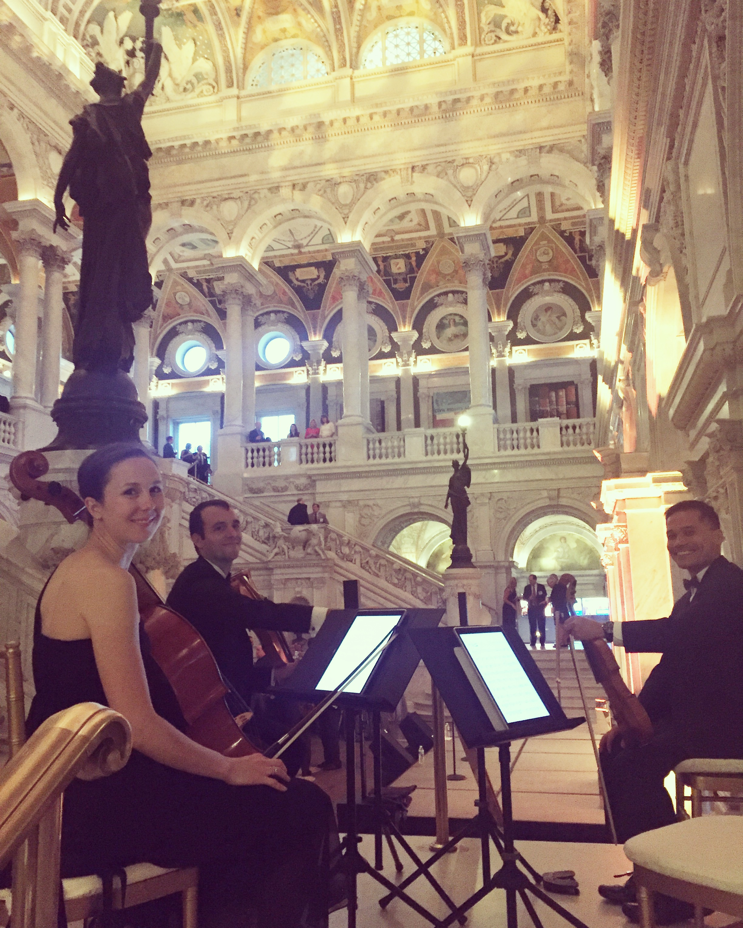 Sage String Quartet at The Library of Congress